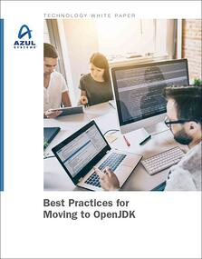Cover Image - Best Practices for Moving to OpenJDK white paper